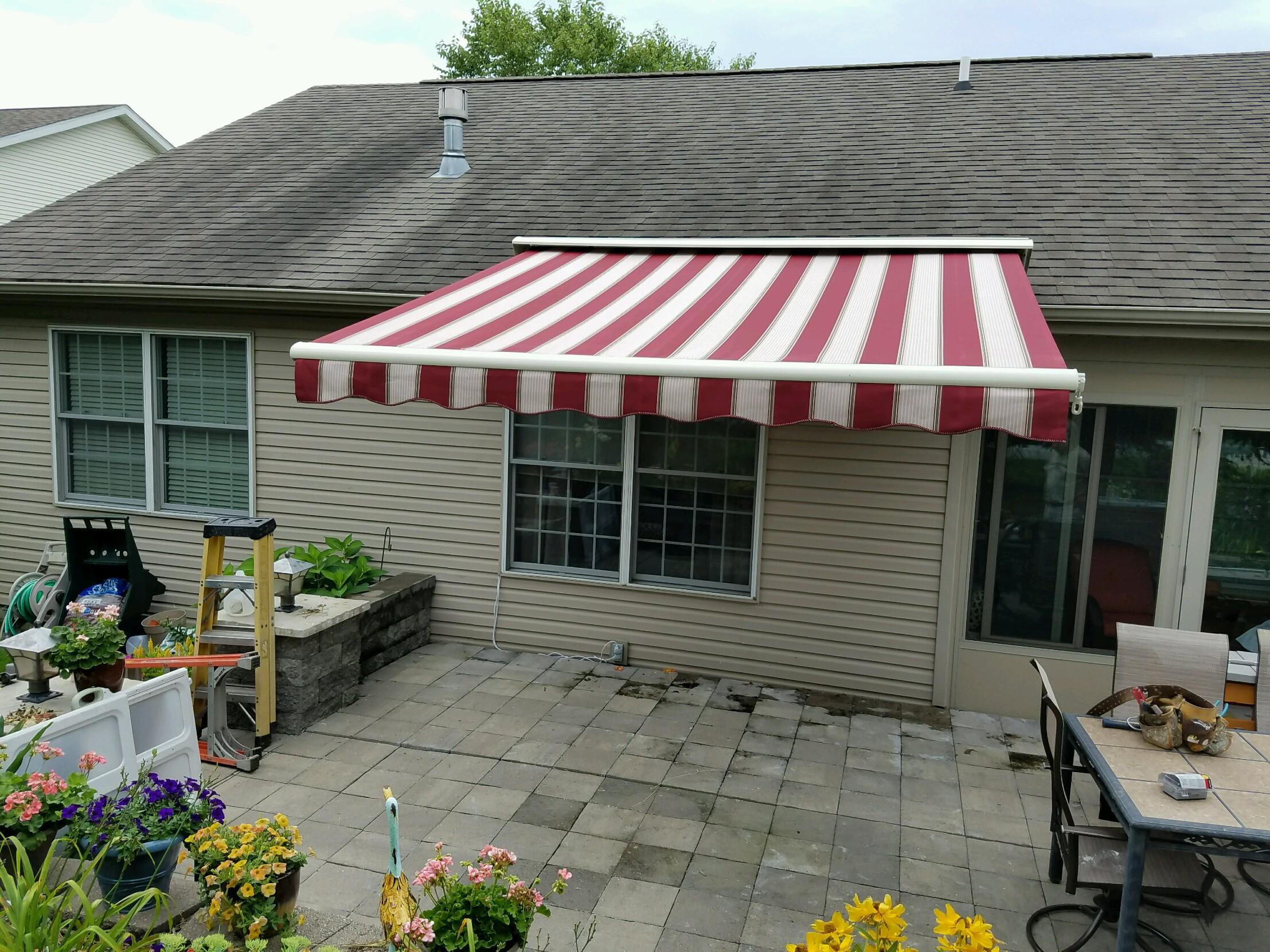 add home awning to your retractable how value awnings sunsetter comfort